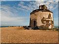 TQ6401 : Martello Tower, Langney Point by David Dixon