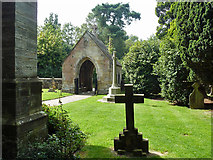 TQ7035 : Lych gate, Kilndown churchyard by Robin Webster