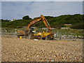 SZ2093 : Digger on the beach by Anthony Vosper