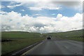 NY8514 : A66 east approaching Slapestones by John Firth