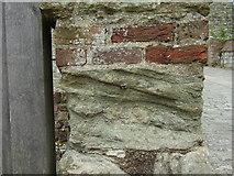 TR3752 : Ordnance Survey bolt at Deal Castle by Shantavira