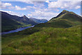 NN1762 : Loch Leven and Beinn na Caillich by Ian Taylor