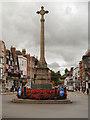 SO8932 : Tewkesbury War Memorial by David Dixon