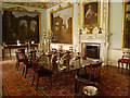 SJ9922 : Shugborough Hall Dining Room by David Dixon
