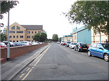 SE2932 : David Street - viewed from Front Road by Betty Longbottom