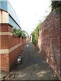 SE2932 : Footpath - David Street by Betty Longbottom