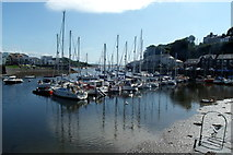 SH5638 : Porthmadog Harbour by Kevin Williams