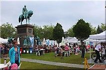 NT2473 : Edinburgh Book Festival, Charlotte Square by Jim Barton