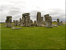 SU1242 : Standing Stones at Stonehenge by David Dixon