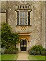 ST9168 : Doorway and Oriel Window, Lacock Abbey by David Dixon
