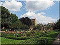 TQ3379 : Leathermarket Gardens - rose garden by Stephen Craven