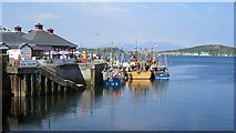 NM8529 : Oban Harbour by Richard Webb
