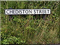 TM3877 : Chediston Street sign by Adrian Cable