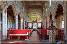 ST6834 : St Mary's church, Bruton - interior by Mike Searle