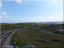 SH7783 : View from Great Orme tramway by Richard Hoare