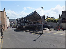 SH7782 : Great Orme tramway station by Richard Hoare