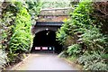 NT2672 : West portal of the Innocent Railway tunnel, Holyrood Park by Jim Barton