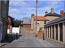 TM3863 : The Old Bell Yard, Saxmundham by Adrian Cable