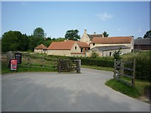 SK9224 : Woolsthorpe Manor from the car park by DS Pugh