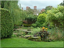 SO4465 : Croft Castle from the walled garden. by Chris Allen