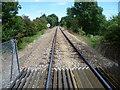 TQ7174 : Freight line near Higham by Marathon
