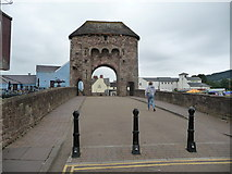 SO5012 : Monnow Bridge, Monmouth by Jeremy Bolwell
