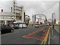 SD3033 : Blackpool Promenade (A584) and Pleasure Beach by David Dixon