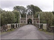 X1096 : Dromana gate and bridge by Hywel Williams