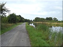 N0519 : Grand Canal in Clonony, Co. Offaly by JP