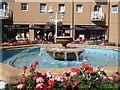 TQ3303 : Fountain at Brighton Marina by Paul Gillett
