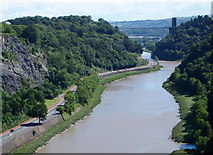 ST5673 : Avon Gorge & Bridge - BS8 by David Hallam-Jones