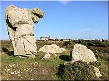 SV8707 : More strange shaped rocks by Andrew Abbott