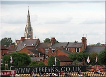 SP7761 : Northampton rooftops by John Sutton
