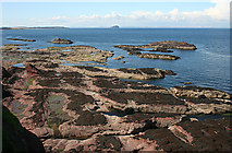 NT6779 : Rockscape by Anne Burgess