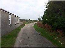 SV9215 : Lane to Higher Town by Andrew Abbott