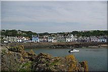 NW9954 : Portpatrick by Leslie Barrie