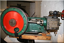 SJ6603 : Museum of the Gorge, Ironbridge - steam engine by Chris Allen