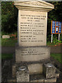 TL4262 : Girton war memorial by Hugh Venables