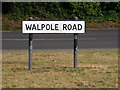 TM3876 : Walpole Road sign by Adrian Cable