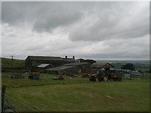 SD9825 : Lower Rough Head Farm by John Slater