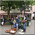 TF6120 : High Street, King's Lynn by Dave Hitchborne