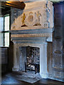 SJ8358 : The Fireplace in the Great Parlour, Little Moreton Hall. by David Dixon