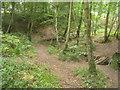 SU8142 : Drainage stream - Alice Holt Forest by Sandy B