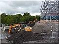 SO1107 : Construction of a medical centre, Rhymney (2) by Robin Drayton