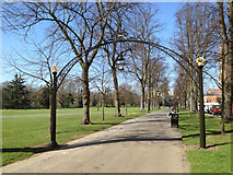 SP3165 : Linden Avenue with restored arches by Robin Stott