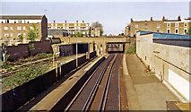 TQ3084 : Caledonian Road & Barnsbury station, 1984 by Ben Brooksbank