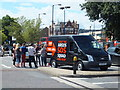 TQ3378 : Argos SOS Squad van by PAUL FARMER