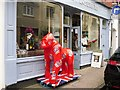 ST5673 : Big red gorilla in Waterloo Street by Rose and Trev Clough
