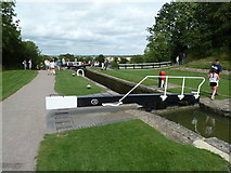 SP6989 : Lock 13, (Old) Grand Union Canal by Mr Biz