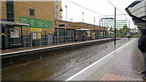 SJ8196 : Exchange Quay Metrolink station, Salford by Steven Haslington